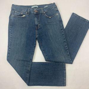 Levis 505 Womens Jeans 10M Blue Straight Leg